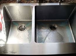 how to get stainless steel sink to shine make your stainless steel sink shine my natural secret ingredient