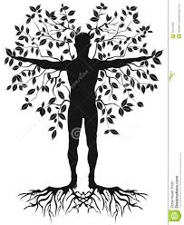 human tree stock vector image 56137032