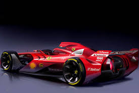 future ferrari scuderia ferrari imagines future design of their formula one cars