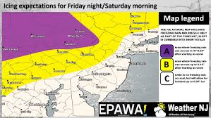 Eastern Pennsylvania Map by Snow Sleet And Freezing Rain On Way But How Much