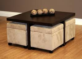 Brown Ottoman Brown Leather Ottoman Coffee Table With Storage Blue Leather