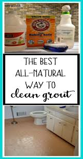Cleaning Grout Lines Best All Natural Way To Clean Grout The Diy Bungalow