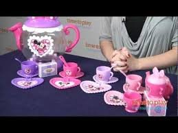 Minnie Mouse Bowtique Vanity Table Minnie Mouse Bow Tique Bow Tastic Teapot Playset From Just Play