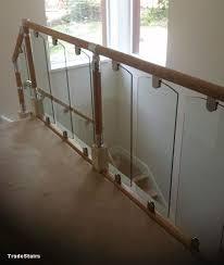 Staircase Banister Kits S Vision Glass Balustrade System Oak Handrails Stair Banister