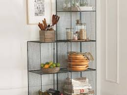 kitchen contemporary kitchen wall shelves bakers rack target