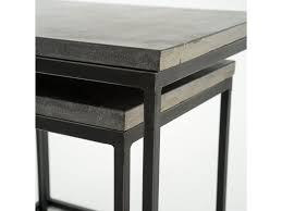 Four Hands Furniture Cimp 11l Living Room Harlow Nesting End Tables