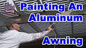 Painting Aluminum Screen Enclosures by Painting Pool Cage Youtube