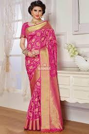 color designer pink color designer party wear saree for women