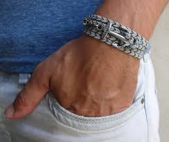 gift men bracelet images Gray silver men 39 s bracelet men anchor bracelet men 39 s jewelry jpg