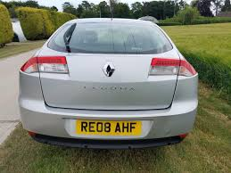 used 2008 renault laguna dynamique dci 5dr for sale in hampshire