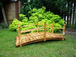 terrific option for wooden garden bridges hometyler