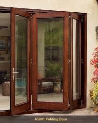 Bi Folding Glass Doors Exterior Jeld Wen A5001 Folding Patio Door What I Want In The Room