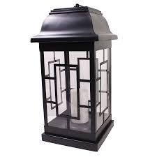 Large Solar Light by Shop Large Solar Led Candle Lantern At Lowes Com
