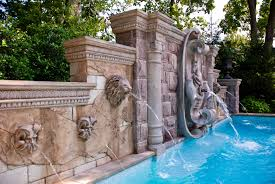 Jersey Home Decor Fountains Pool Fountains And Waterfalls Swimming Water Fountain Design