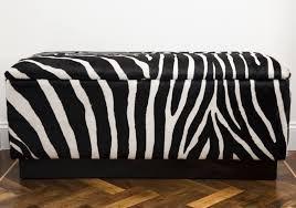 alluring animal print storage ottoman with furniture safavieh
