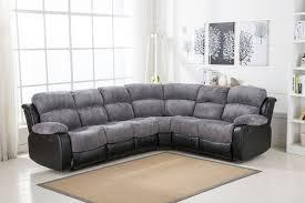 Grey Recliner Sofa New Luxury California 3c2 Jumbo Cord Recliner Corner Sofa Grey Black