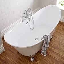 milano contemporary double ended freestanding bath with choice of feet contemporary double ended freestanding bath with choice of feet image 2