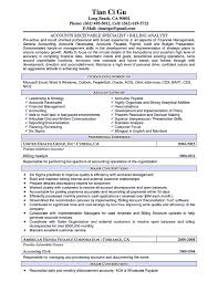 Cost Accounting Resume Cost Accountant Cover Letter Gallery Cover Letter Ideas Resume