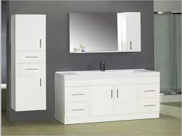 white wall mounted cabinet bathroom bright white bathroom vanity and wall mounted cabinet with