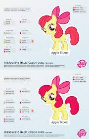 Bloom Apple Bloom Color Guide 2 0 Updated By Kefkafloyd On Deviantart