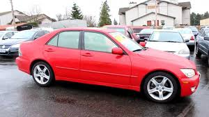 lexus for sale modesto ca 2003 lexus is300 sedan red stock l066036 walk around youtube