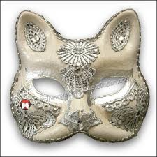venetian cat mask venetian cat mask accessories eco friendly pulp mask white mask