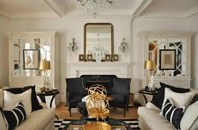 Cool Wonderful Living Rooms Black And Gold Room Stunning Black And White Living Room Ideas In Dining On