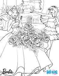 barbie coloring pages princess popstar coloring