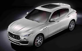 maserati car interior 2017 maserati levante suv revealed