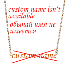 Cursive Name Necklace No Custom Anna Initial Personalized Name Pendant Cursive Name