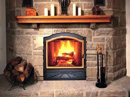 zero clearance wood burning stove insert fireplace dimensions code