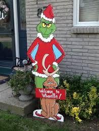 grinch outdoor decorations 48 grinch yard