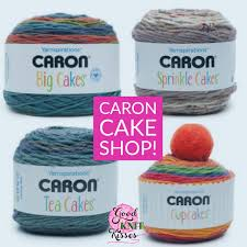 caron cake shop new yarn goodknit kisses