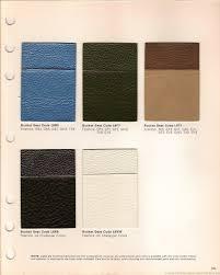 the 1970 hamtramck registry 1971 dodge color u0026 trim book