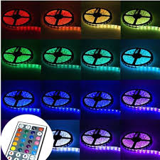 led colour changing lights strips lightings and lamps ideas