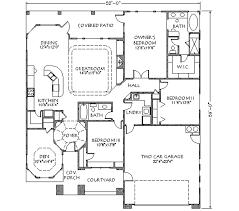 adobe southwestern style house plan 3 beds 2 00 baths 1969 sq