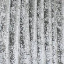 Crushed Velvet Fabric For Curtains Bling Silver Crushed Velvet Fabric Ideal Curtain Upholstery