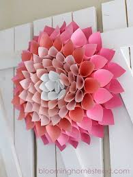 Spring Wreath Ideas 9 Examples Of Springtime Wreaths To Make For Your Home Contemporist