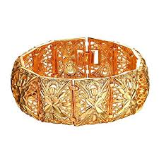 bangle style bracelet images Women bangle vintage indian style jewelry 20cm long jpg