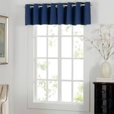 White And Navy Curtains Buy Navy Blue Curtains Window Treatments From Bed Bath Beyond