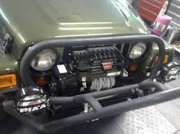 jeep wrangler military style jk turn signals to tj grille install savagesun4x4 savagesun