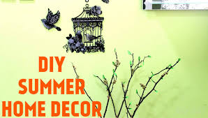 Home Center Decor How To Diy Summer Home Decor Tree Branch Decor A4 Colored