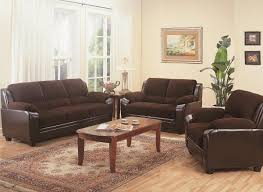 Sofa And Loveseat Sets Furniture Outlet Chocolate Brown Two Tone Sofa Loveseat Set