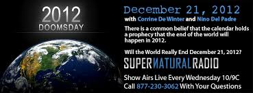 2012 doomsday and other signs of the end times supernatural talk