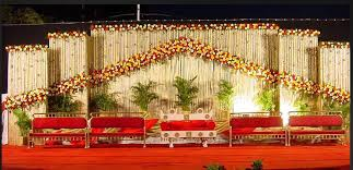 decorations for indian wedding a wedding planner indian wedding stage decorations and indian