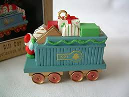 gift car claus co rr series 1991 hallmark ornament