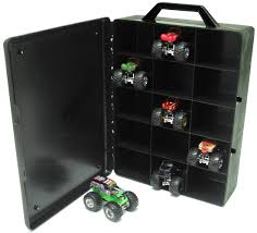 grave digger monster truck halloween costume amazon com wheels monster jam 15 truck storage with carrying