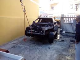 auto usate porto torres porto torres incendiata la bmw di un imprenditore cronaca la