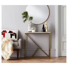 Decorative Furniture Round Decorative Wall Mirror Brass Project 62 Target