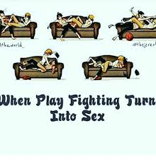 Turn Photo Into Meme - awer vhen play fighting turn into sex meme on sizzle